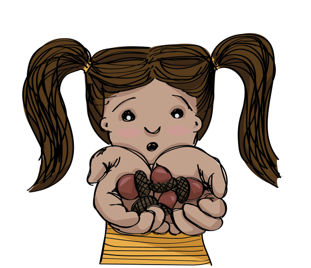 girl-acorns2-01